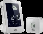 Braun BNC013-RC - Wetterstation - Global funkgesteuertes Uhrwerk - Weiss