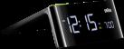 Braun BNC016BKEU - LCD Wecker - Mit Adapter - Schwarz