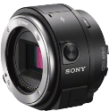 SONY ILCE-QX1 BODY, 20.1 MP, Schwarz