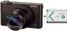 SONY Cyber-shot DSC-RX100 III + SONY NP BX1 - Fotocamera digitale - 20.1 MP - nero
