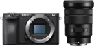 Sony α6500 ILCE-6500 + 18-105 mm - Systemkamera - 24,2-Megapixel Exmor CMOS-Sensor - Schwarz