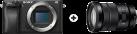 SONY α6300 + E 18-105 mm F4 G OSS - Digitalkamera und Objektiv - 24.2 MPix - Schwarz