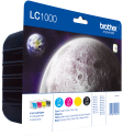 brother LC1000 Value Pack