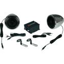 RENEGADE RXA100 C - Système de sonorisation pour motos/ scooters - 2x 50 watts - Chrome