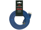 RENEGADE 5 m CINCHKABEL REN5RCA - Audio Kabel - Blau