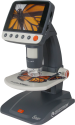 CELESTRON InfiniView LCD Digital MP - Microscopio digitale - Ingrandimento: 4 - 160x con LCD - Nero/Argento