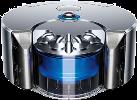 dyson 360 Eye - Roboterstaubsauger - Kettenräder - Silber