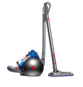 dyson Cinetic Big Ball Musclehead - Bodenstaubsauger - 250 Watt - Grau/Blau