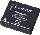 Panasonic CGA-S005E/1C - Li-Ion Akku - 1150 mAh - Schwarz
