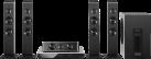 Panasonic SC-BTT505EG9, schwarz/silber