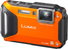Panasonic Lumix DMC-FT5, 16.1 MP, Orange