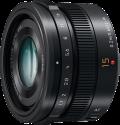 Panasonic H-X015E-K - Micro-FourThirds-Objektiv - F1.7 ASPH. - Schwarz