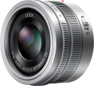 Panasonic H-X015E - Micro-FourThirds-objectif - F1.7 ASPH. - Argent