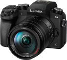 Panasonic Lumix G DMC-G70, 14-140mm, 16 MP, Noir