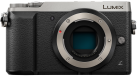 Panasonic LUMIX GX80, Body, 16 MP, Silber