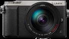 Panasonic LUMIX GX80, 14-140 mm, 16 MP, Argent