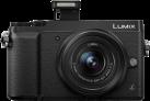 Panasonic LUMIX GX80, 12-32 mm, 16 MP, Schwarz