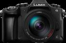 Panasonic DMC-G81 + LUMIX G VARIO 14-140 mm - Systemkamera - 16 MP Sensor - Schwarz