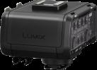 Panasonic DMW-XLR1 Mikronfonadapter für Lumix DMC-GH5 - 2x XLR - Schwarz