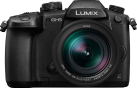 Panasonic LUMIX G DC-GH5 + LUMIX G H-ES12060 - Fotocamera digitale mirrorless - 20.3 MP - Nero
