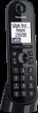 Panasonic KX-TGQ200 - Telefono fisso senza fili - Nero