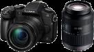 Panasonic DMC-G81WEG-K DZ Kit - Wechselobjektivkamera - 16 MP - Schwarz