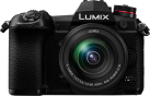 Panasonic LUMIX DC-G9 + G Vario 12-60 mm / F3.5-5.6 ASPH. / Power O.I.S. - Fotocamera mirrorless + obiettivo zoom standard - 20.33 MP - Nero