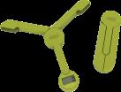 Joseph Joseph Küchenwaage TriScale, grün