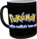 SFJ DISTRIBUTION Pokemon Pikachu - 300 ml - Schwarz