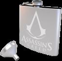 GB eye Assassin's Creed Flachmann mit Trichter - 170 ml - Edelstahl