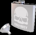 GB eye Call of Duty Flachmann mit Trichter - 170 ml - Edelstahl