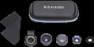 kitvision 4 in 1 Objektivsatz - Für Smartphone - Schwarz