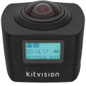 kitvision Immerse 360 - Action Camera - 8 MP - schwarz
