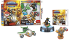 Skylanders SuperChargers Starter Pack, 3DS, allemand/anglais