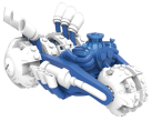 Skylanders SuperChargers Single Vehicle Power Blue Gold Rusher