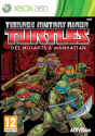 Teenage Mutant Ninja Turtles: Des Mutants à Manhattan, Xbox 360 [Versione francese]