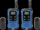 MOTOROLA TLKR T41 - Walkie-Talkie - 8 canali - Blu