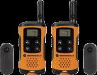 MOTOROLA TLKR T41 - Walkie-Talkie - 8 canali - Arancione