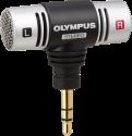 OLYMPUS ME51S - Kompaktes Stereomikrofon - 100 - 15.000 Hz - Schwarz / Silber