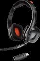 PLANTRONICS GameCom P80 - Wireless Stereo Gaming Headset - für PS4 - Schwarz