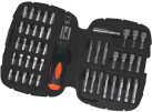 BLACK & DECKER A7039 - Set con cricchetto - Nero
