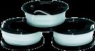 BLACK & DECKER A6485 - Ersatzspule Reflex 3er Pack - Weiss