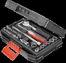 BLACK & DECKER A7142 - Autowerkzeug-Set - Schwarz