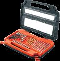 BLACK & DECKER A7152 - Set per forare e avvitare - 35 pezzi - arancione/nero