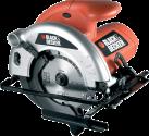 BLACK & DECKER CD601 - Handkreissäge - 1100 Watt - Orange