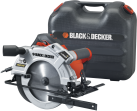 BLACK & DECKER KS1500LK - Scie circulaire - 1500 watts - orange/noir