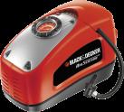 BLACK & DECKER ASI300 - Compresseur - 11 bar - orange/noir