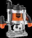 BLACK & DECKER KW1600EKA - Oberfräse - 1600 Watt - Orange/Schwarz