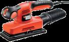 BLACK & DECKER KA320EKA - Kompakt-Schleifer - 240 Watt - Orange/Schwarz
