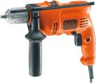 BLACK & DECKER KR504CRESK - Schlagbohrmaschine - 500 Watt - Orange